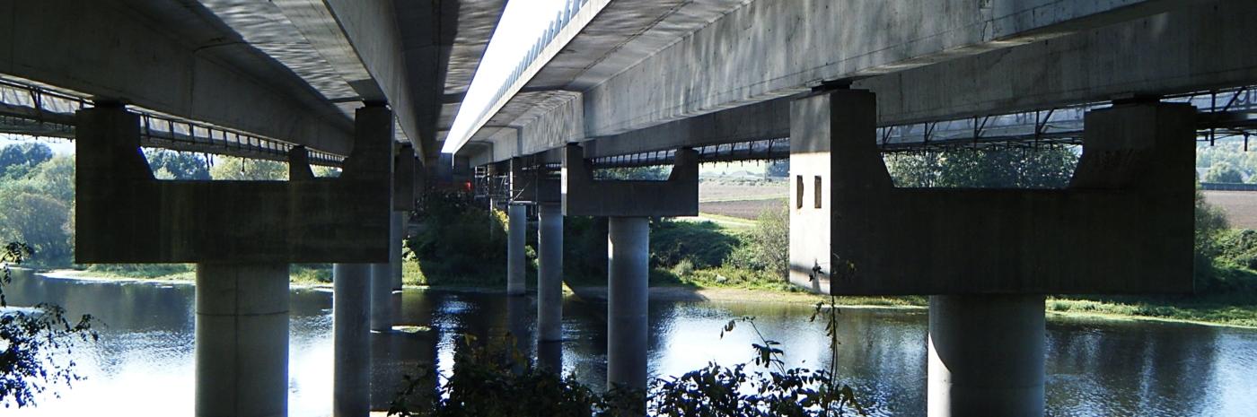 Travaux sur viaduc