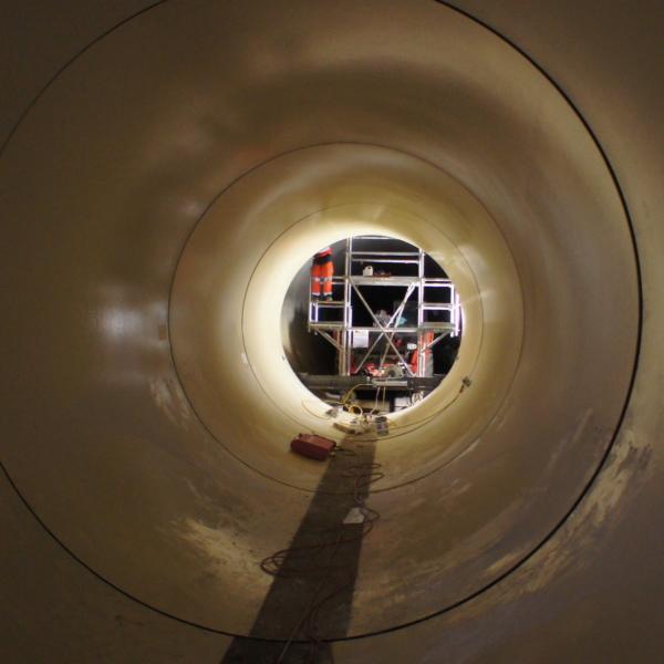 Calage des tuyaux PRV