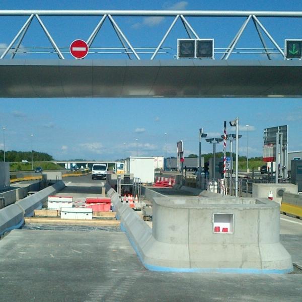 Construction des ilots du TSA de Veigné